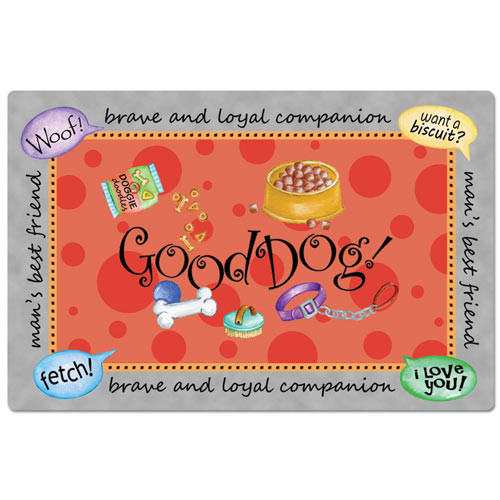 Good Dog Placemat 42055