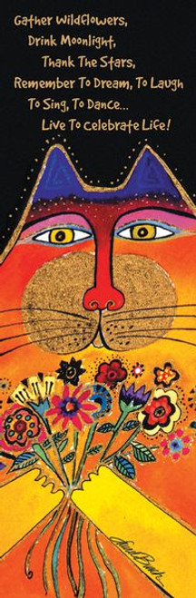 Laurel Burch Cat Bookmarker - 54226