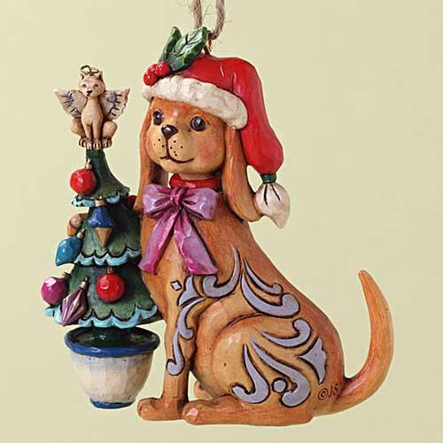 Merry Christmas Happy Dog Ornament 4027757