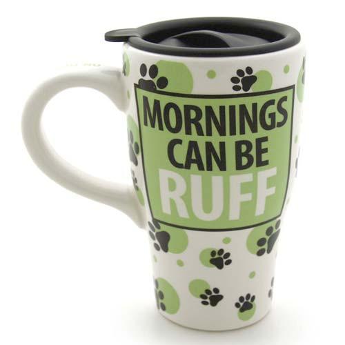 "Pet Ceramic Travel Mug ""I Wish The Dog"" 4031113"