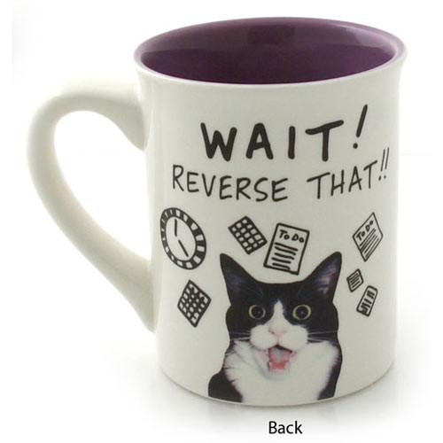 Cat Theme Mug So Little Time 4037268