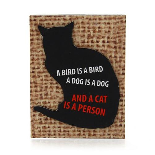 Cat Person Cat Magnet 4039110