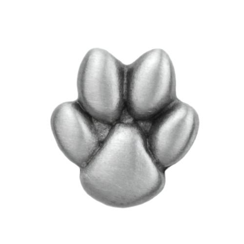 Paw Print Pewter Clutch Pin 2090CP