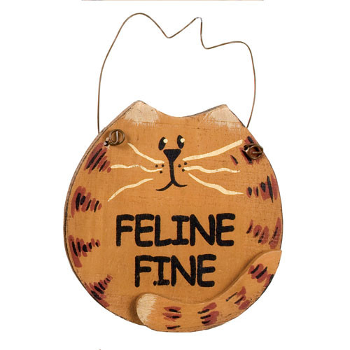 Cat Magnet Feline Fine 33325-I