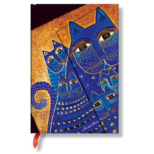 Laurel Burch Journal Mediterranean Cats Mini 478-4