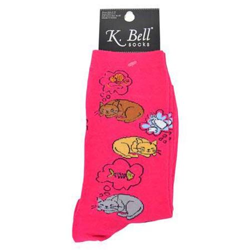 Cat Nap Socks Dark Fushsia 61686DF