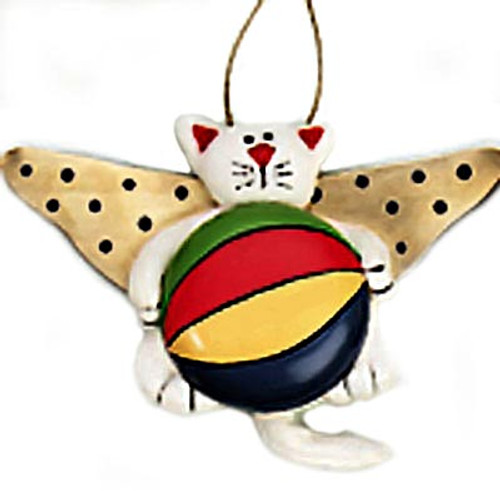 Cat Angel Christmas Ornament Fabric 864-74
