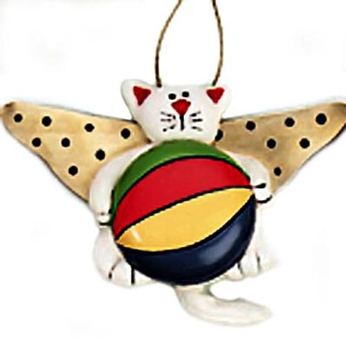 Cat Angel Christmas Ornament Fabric 864-74