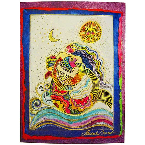 Laurel Burch Magical Birthday Card BDG10872
