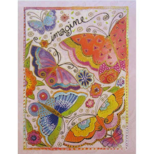 Laurel Burch Collector Cards Happy Birthday BDL49289