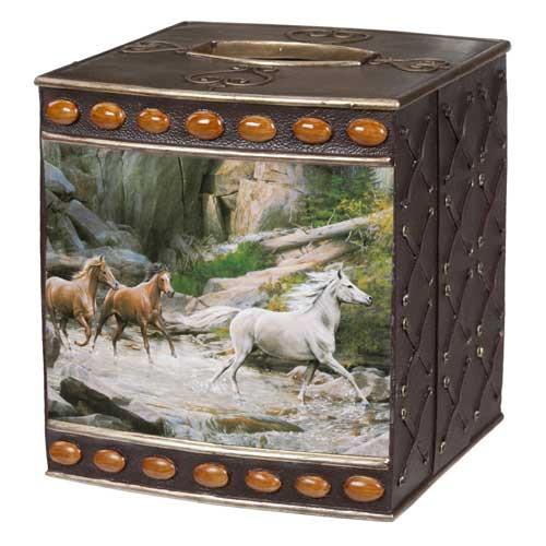 Horse Canyon Tissue Box Cover HCN58