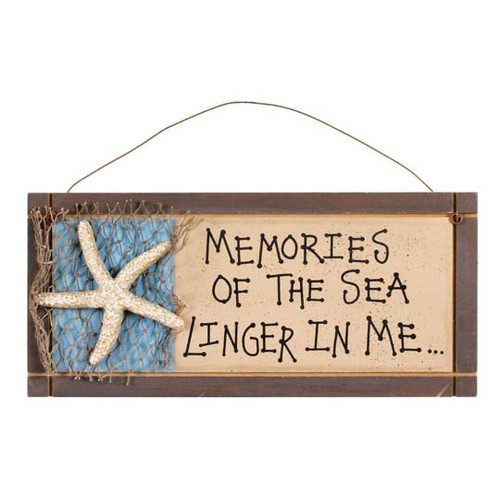 Sea Memories Beach Sign 33408