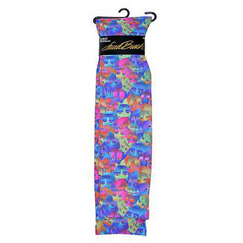 Laurel Burch Sublimated Trouser Socks Cats - LB1108