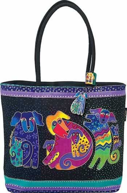 Laurel Burch Dogs and Doggies Square Purse - LB2070