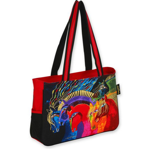 Laurel Burch Wild Horses of Fire Medium Bag - LB4842
