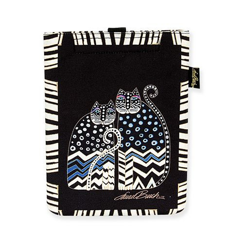 "Laurel Burch Tablet Computer Case ""Polka Dot Gatos"" - LB5200C"