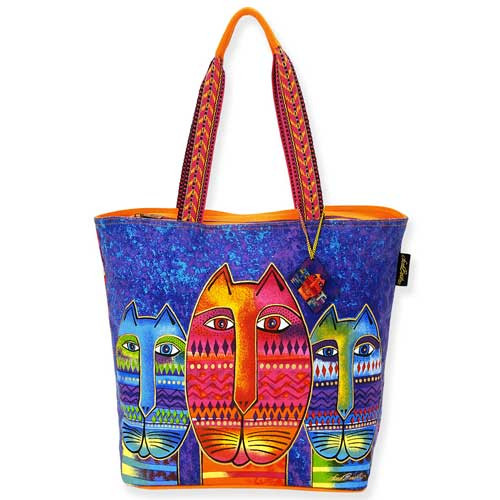 Laurel Burch Three Amigos Shoulder Tote Bag LB5260