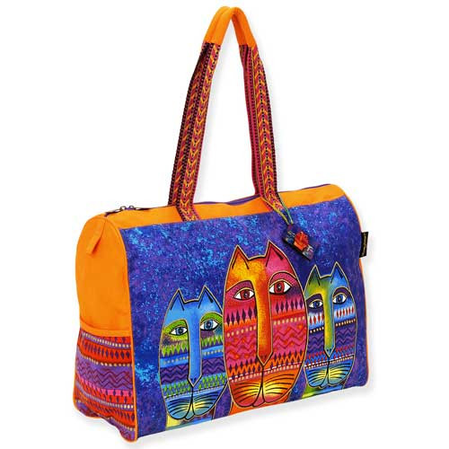 Laurel Burch Three Amigos Travel Tote Bag LB5261