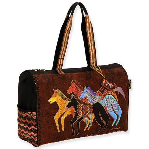 Laurel Burch Native Horses Travel Bag LB5271