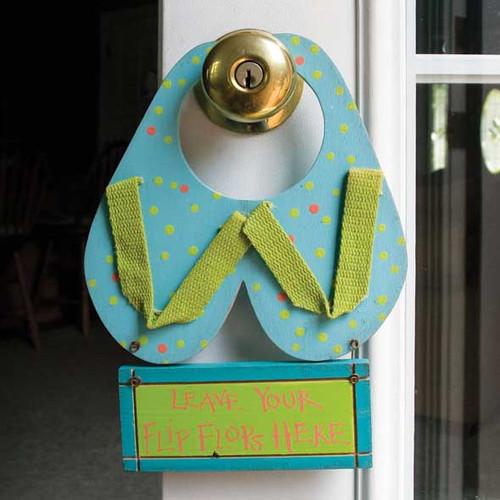 Flip Flop Doorknob Hanger 34068