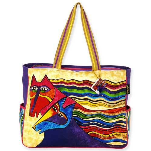 Laurel Burch Wind Spirit Oversized Tote Bag LB5280