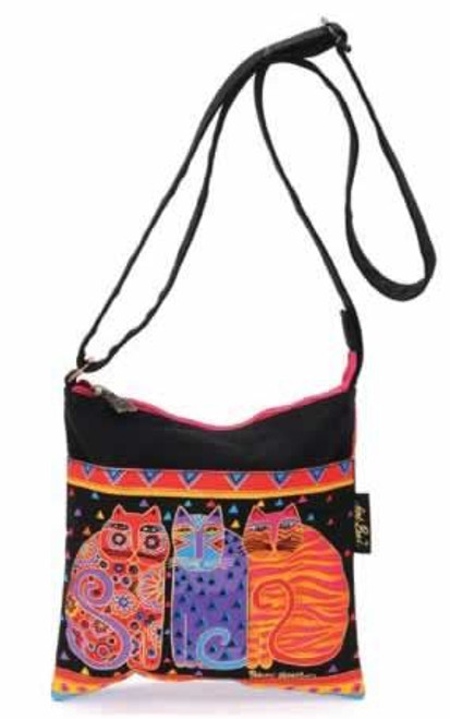 Laurel Burch Feline Friends Crossbody Bag - LB776