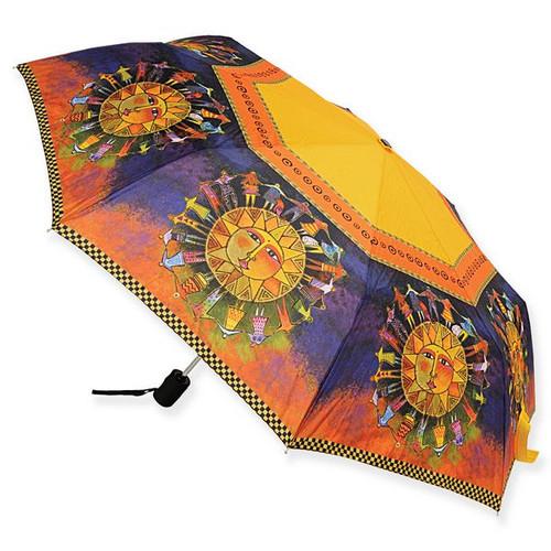 Laurel Burch Compact Umbrella Harmony Under the Sun - LBU006A