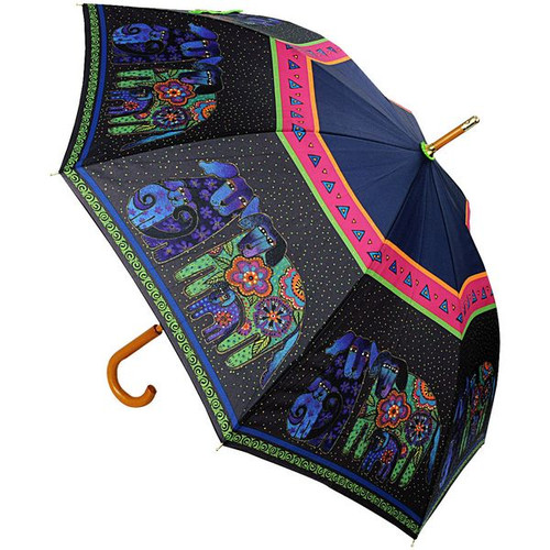 Laurel Burch Stick Umbrella Dog and Doggies - LBU007S