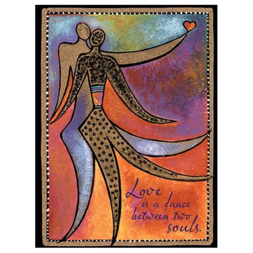 "Laurel Burch Card Love - ""Dance of Life"" - LVG13259"