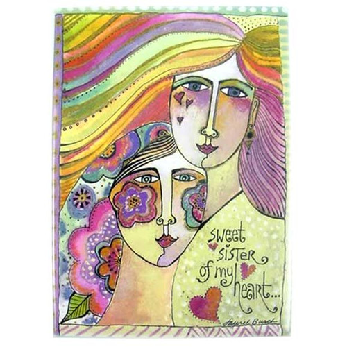"Laurel Burch Magnet ""Sweet Sister"" - MRG31262"