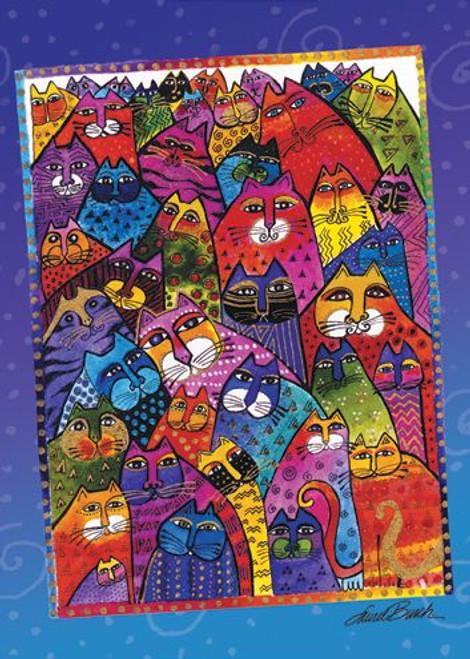 Laurel Burch Magnet Cats - MGR31281