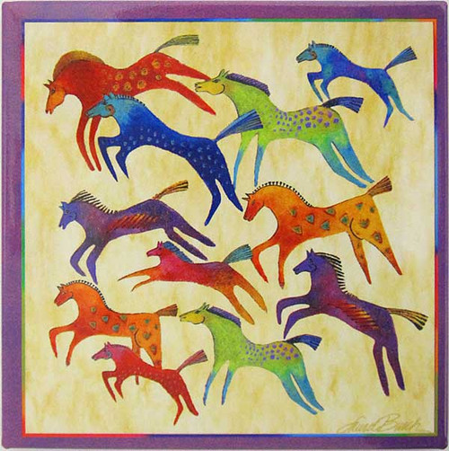 Laurel Burch Magnet Horses MAS26432