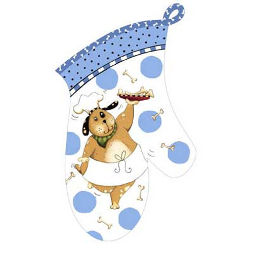 Happy Dog Oven Mitt R2645