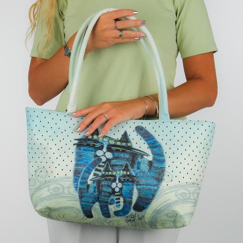 """""""Cats Together"""" Cat Lovers 'Market' Tote - SS251B"""