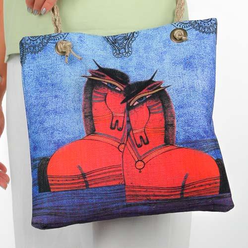 """Gypsy Sorrel Horses"" Horse Lovers Crossbody Shoulder Bag 13x12x4 Tote - SS246C"