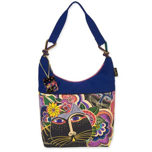Laurel Burch Carlotta's Cats Scoop Tote LB5492