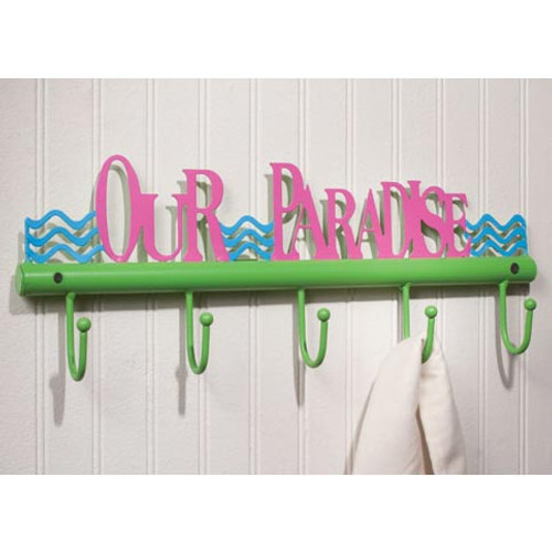 Our Paradise Metal Hooks Five 35037