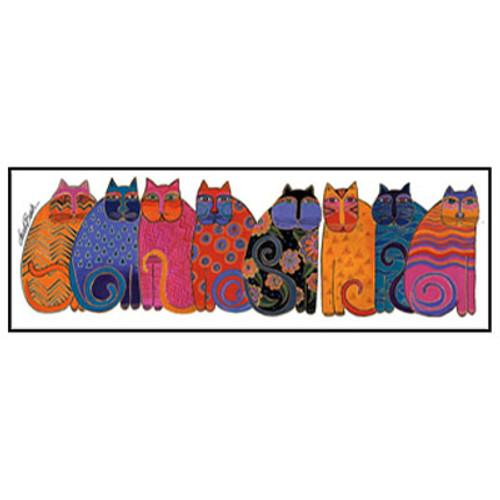 Laurel Burch Bookmark Colorful Cats BMK54237