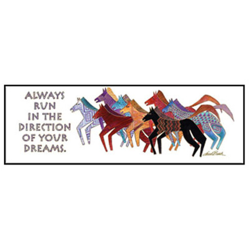 Laurel Burch Bookmark Artistic Horses BMK54236