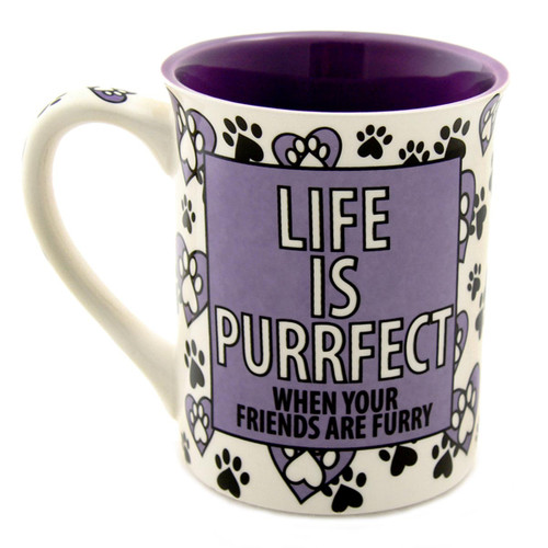 Cat Person Stoneware Coffee Mug 4044253