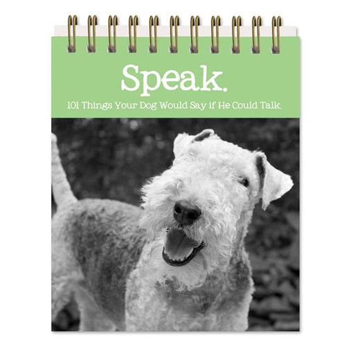 Dog Sayings Easel Book 5x4 - 47465