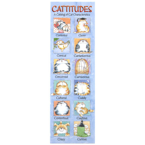 Cattitude Bookmark BMK54147