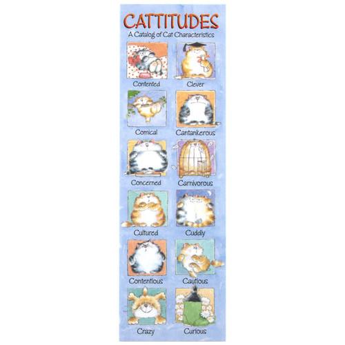 Cattitude Bookmark BMK54147