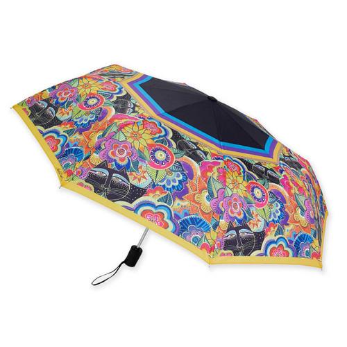 Laurel Burch Compact Folding Umbrella Carlotta's Cats LBU009A