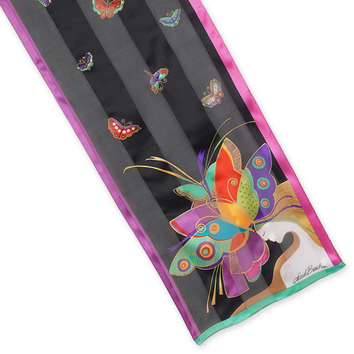 Laurel Burch Mid Summer Nights Dream Silk Scarf LBS203