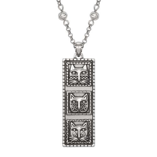 Totem Cats Laurel Burch Necklace 5055