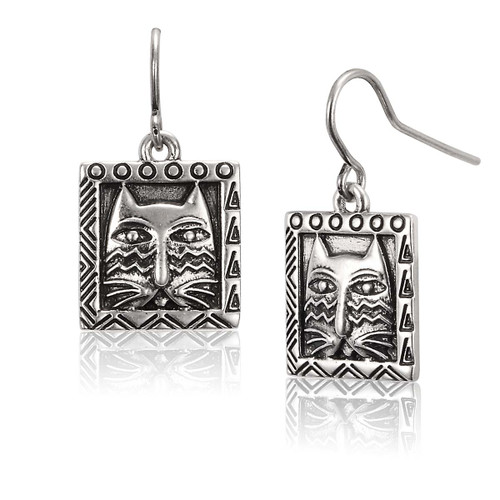 Ziggy Cat Laurel Burch Earrings - 5062