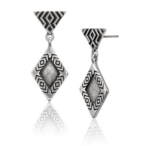 Tribal Rain Laurel Burch Earrings - 6081