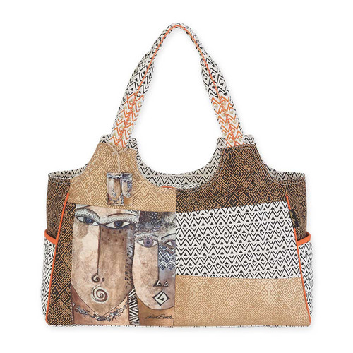 Laurel Burch Native Voices Scoop Tote LB5582