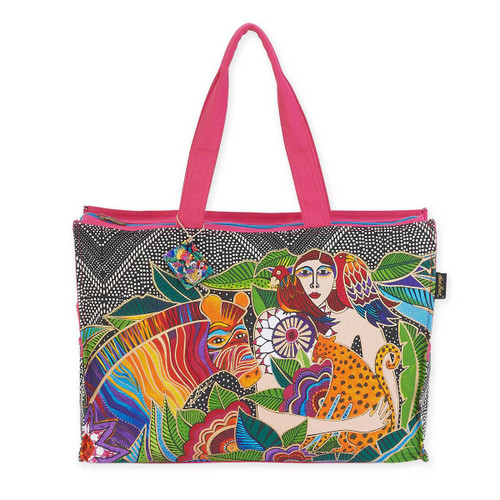 Laurel Burch Earth Song Oversized Tote LB5621